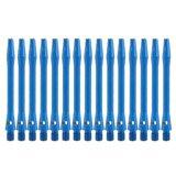 Bull's Medium Aluminium shafts blauw - 5 pack
