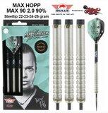 Bull's Max Hopp 90% 2.0 tungsten steeltip dartpijlen