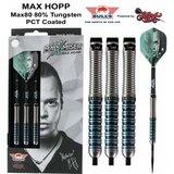 Bull's Max Hopp 80% tungsten steeltip dartpijlen