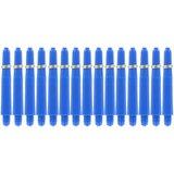 Bull's Short Nylon Ring shafts blauw - 5 pack