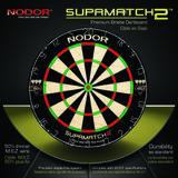 Nodor Supamatch II sisal dartbord_