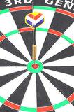 Longfield Third Generation sisal dartbord_