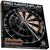 de verpakking van de Harrows Pro Matchplay Bristle dartbord