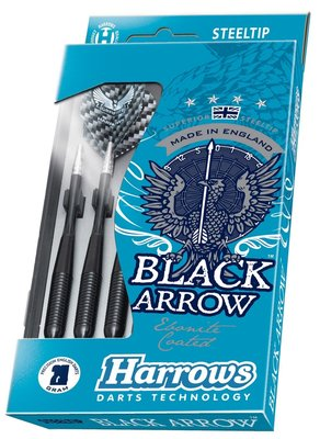 Harrows Black Arrow steeltip dartpijlen