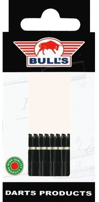 Bull's X-Short Nylon Ring shafts zwart - 5 pack