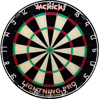 McKicks Lightning Pro sisal dartbord