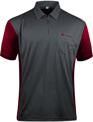 Target Coolplay 3 Hybrid Grey/Ruby Red 2019 dartshirt