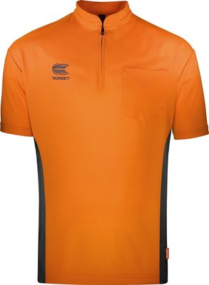 Target Coolplay Collarless Orange/Dark Grey 2019 dartshirt