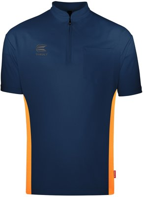 Target Coolplay Collarless Blue/Orange 2019 dartshirt