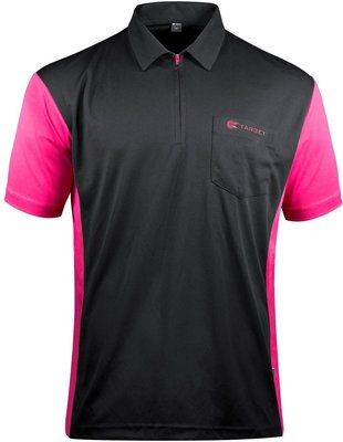 Target Coolplay 3 Hybrid Black/Dark Pink 2019 dartshirt