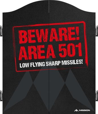Mission Caution Area 501 red kabinet