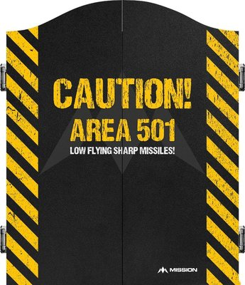 Mission Caution Area 501 yellow kabinet
