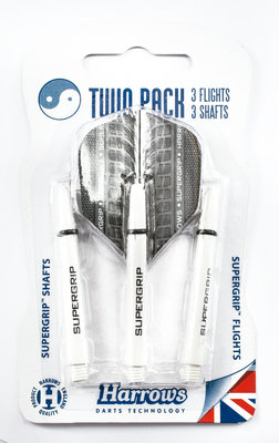 Harrows Twin Pack Supergrip White