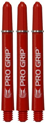 Target Pro Grip Medium Nylon Ring shafts rood