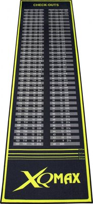 XQ-Max Check-Out dartmat groen