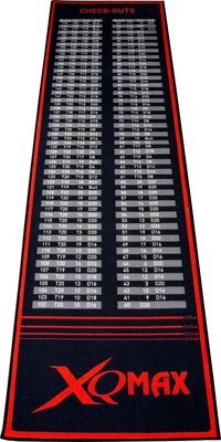 XQ-Max Check-Out dartmat rood