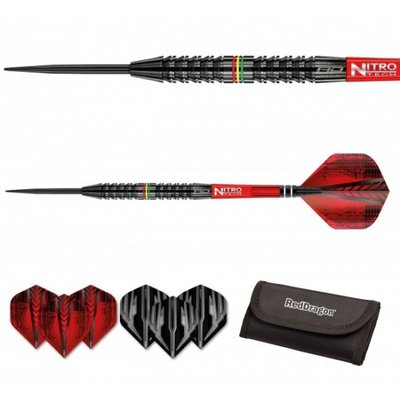 Red Dragon Jamie Lewis 90% steeltip dartpijlen
