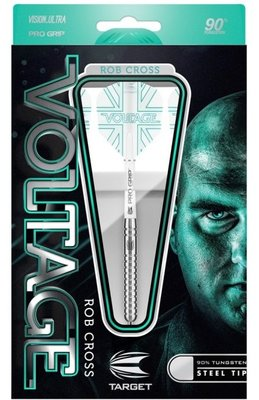 Target Rob Cross Voltage 90% steeltip dartpijlen