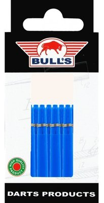 Bull's In Between Nylon Ring shafts blauw - 5 pack