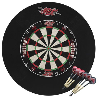 Shot! Outlaw Tournament Darts set