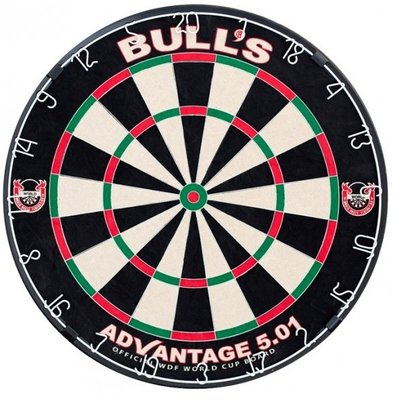 Bull's Advantage 501 sisal dartbord