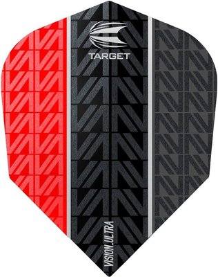 Target Vision Ultra Vapor8 Black Red Std.6 flights