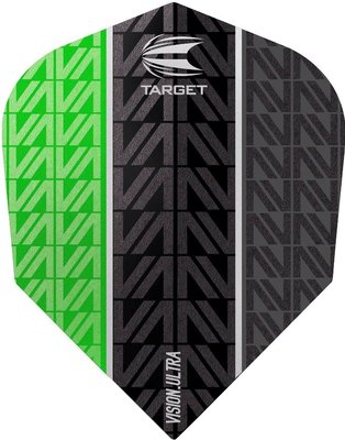 Target Vision Ultra Vapor8 Black Green Std.6 flights