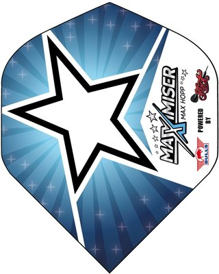 Bull's Powerflite P Std. Max Hopp Blue Star flights