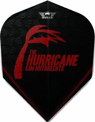 Bull's Powerflite P Std.6 Kim Huybrechts The Hurricane Black flights