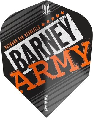 Target Vision Ultra Player RVB Barney Army Black Std.6 flights