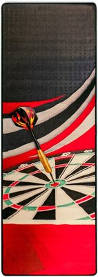 McKicks Carpet Red dartmat