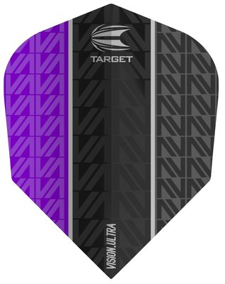 Target Vision Ultra Vapor8 Black Purple Std.6 flights