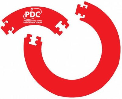 PDC Europe surround rood