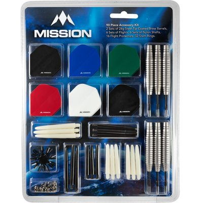 Mission Mega Darts Giftset Steeltip dartpijlen