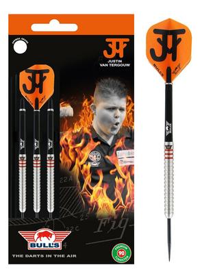Bull's Justin van Tergouw Phase 4 90% steeltip dartpijlen