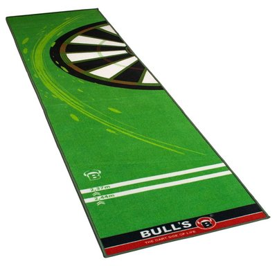 Bull's Carpet 120 dartmat groen