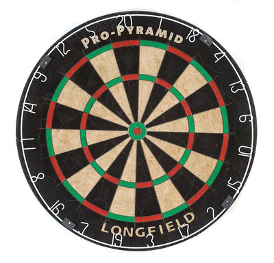 Longfield Pro Pyramid sisal dartbord