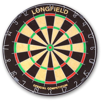 Longfield Official sisal dartbord