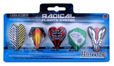 Harrows Radical flightset 5x
