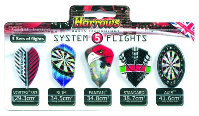 Harrows System flightset 5x