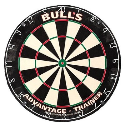 Bull's Advantage Trainer sisal dartbord