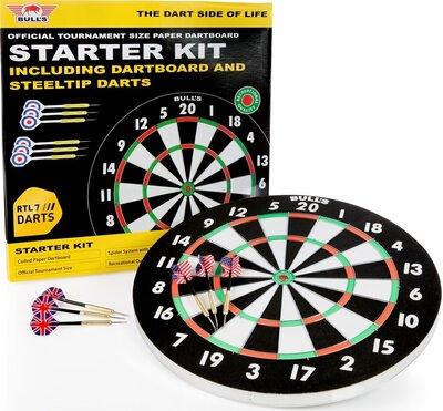 Bull's Starter Kit flocked dartset