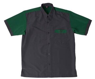 Bull's Buckshot dartshirt grijs/groen