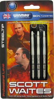 Winmau Scott Waites steeltip dartpijlen