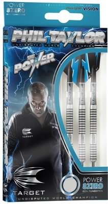Target Phil Taylor Power 8Zero steeltip dartpijlen