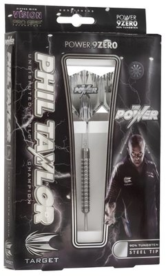 Target Phil Taylor Power 9Zero steeltip dartpijlen