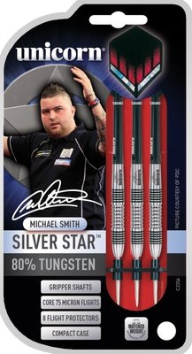 Unicorn Silverstar Michael Smith steeltip dartpijlen
