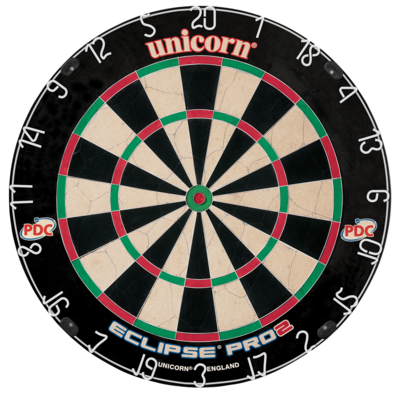 Unicorn Eclipse Pro 2 sisal dartbord