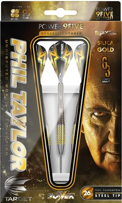 Target Phil Taylor Power 9Five Generation 3 steeltip dartpijlen
