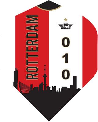 Bull's Rotterdam Shirt Rood flights